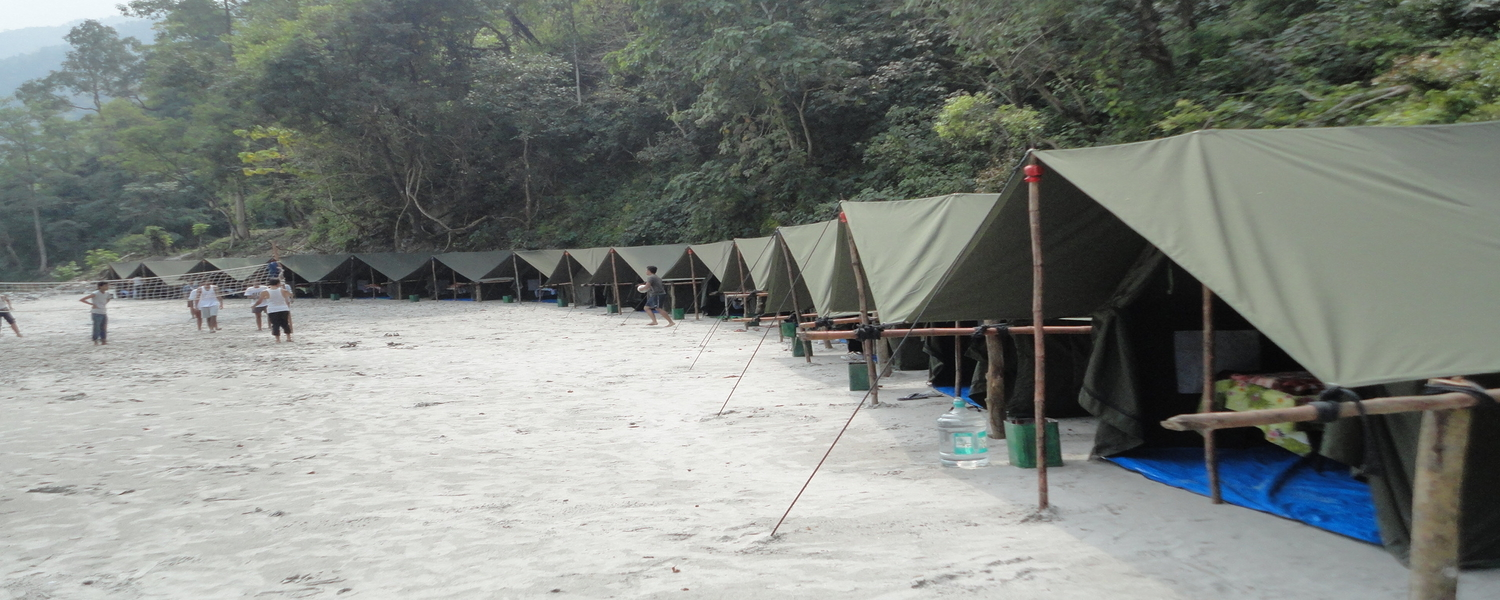 Camping in Rishikesh Header